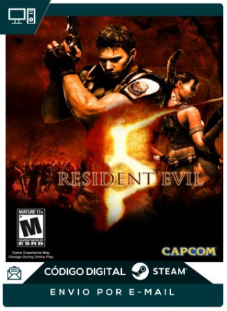 Resident Evil 5 Pc Steam Original