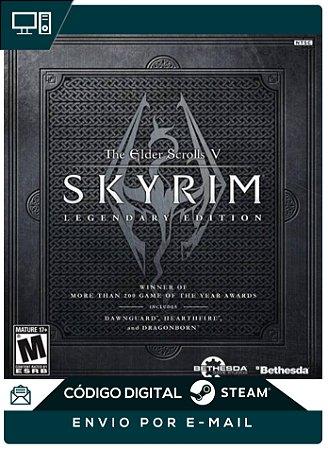 The Elder Scrolls V Skyrim Legendary Edition Steam Cd-key