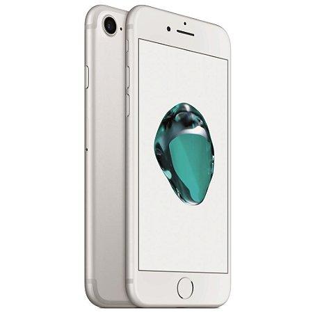 iPhone 7 128gb Apple 4G LTE Desbloqueado Prateado - Produto de Vitrine Usado com Garantia de 90 dias