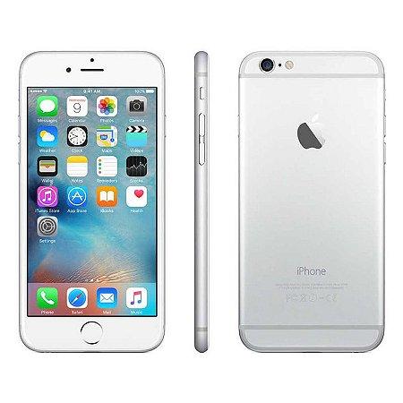 iPhone 6 16gb Apple 4G LTE Desbloqueado Prateado Usado