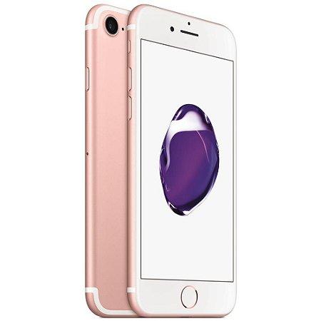 iPhone 7 128gb Apple 4G LTE Desbloqueado Rosa - Produto de Vitrine Usado com Garantia de 90 dias