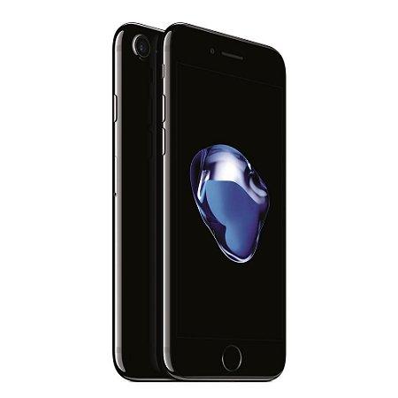 iPhone 7 128gb Apple 4G LTE Desbloqueado Preto Brilhoso - Produto de Vitrine Usado com Garantia de 90 dias