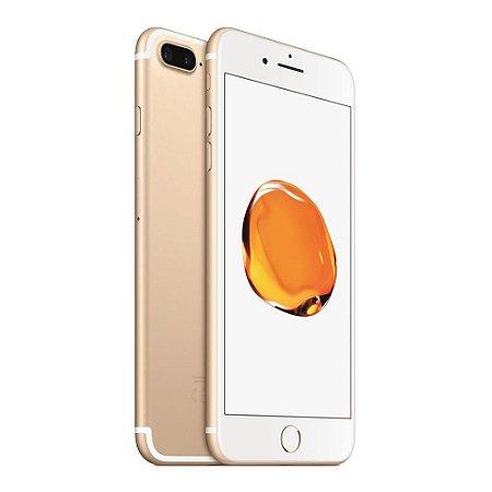 iPhone 7 Plus 128gb Apple 4G LTE Desbloqueado Dourado - Produto de Vitrine Usado com Garantia de 90 dias