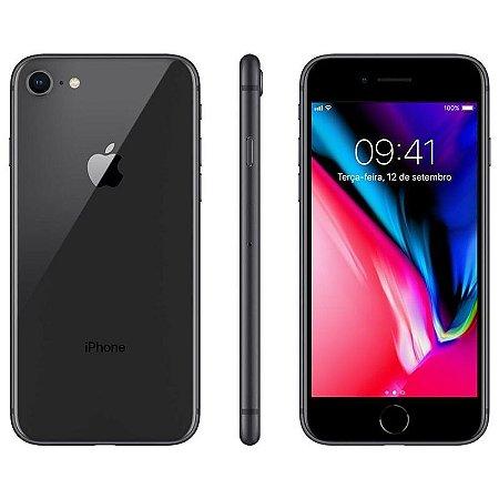 iPhone 8 64gb Apple 4G Desbloqueado Cinza Espacial - Produto de Vitrine Usado com Garantia de 90 dias