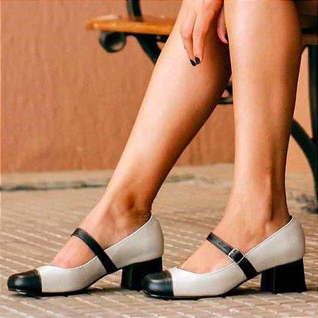Sapato Boneca Marta Creme