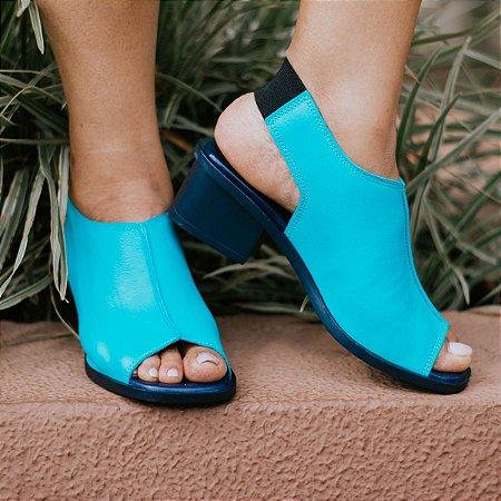 Sandália Azul Rê Piscina