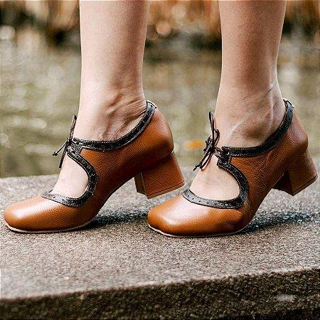 Sapato Boneca Louli Marrom