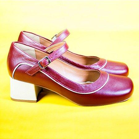 Sapato Boneca Marta Vermelho