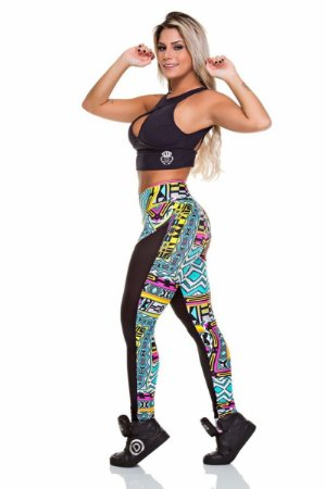 Legging Jump Estampa Colorida