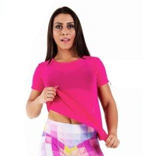 Blusa Transparência Pink