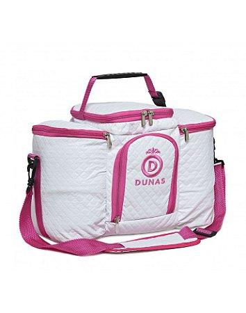 Bolsa Térmica Max Branca com Pink (COM AVARIA)
