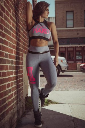 Legging Strike Gray