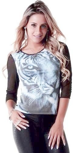 Blusa Tela Tiger