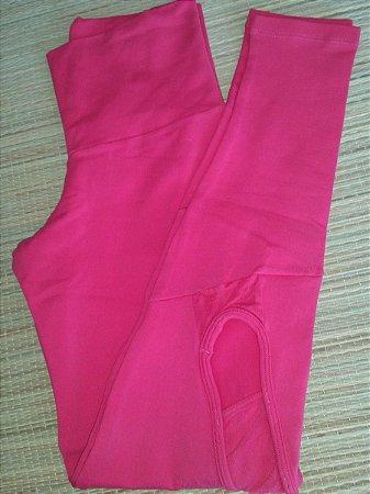 Calça Legging Vazada Pink