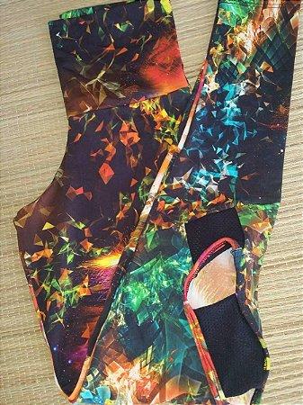 Calça Legging Vazada Colors