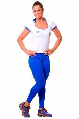 Legging Class Azul Cobalto