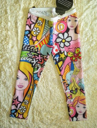 Legging Infantil Digital Dolls Fashion