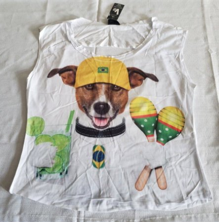 Blusa Dog Brasil
