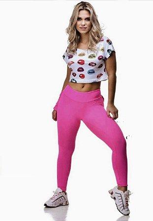 Legging Babadinho Pink Dunas Body Power