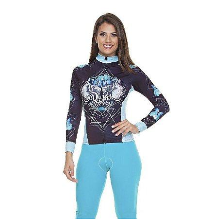 Camisa Feminina Manga Longa Tigre