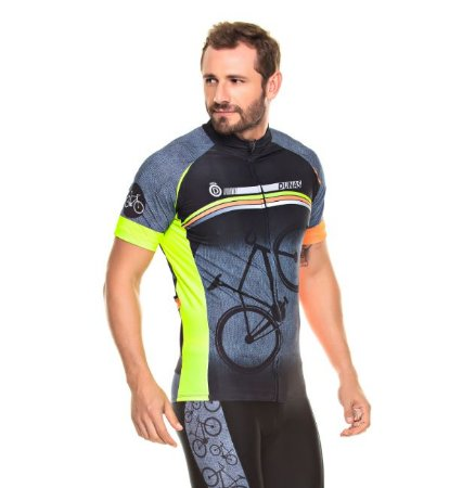 Camisa Masculina Manga Curta Cycling Bike