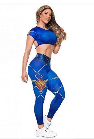 Legging Digital Super Girl Star