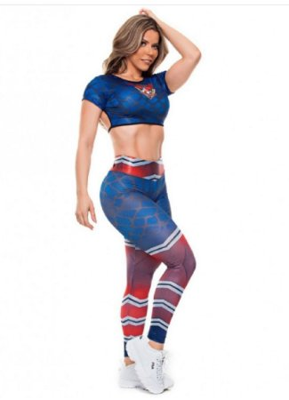 Legging Digital Super Girl Teia