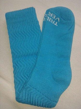 Meia Aeróbica Azul