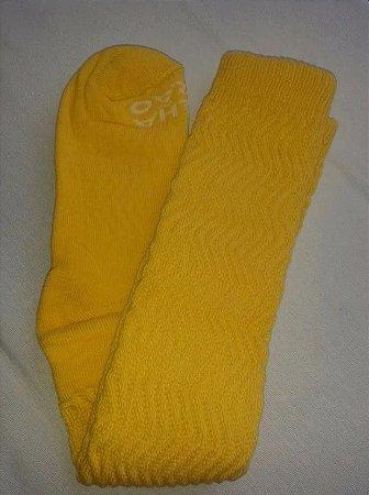 Meia Aeróbica Amarela