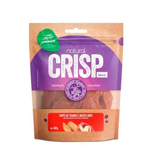 Petisco para Cães Natural Crisp Chips de Frango e Batata Doce 100g