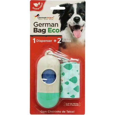 Kit Saquinhos Higienicos German Hart Bag Eco Dispenser Cata-Caca Waves