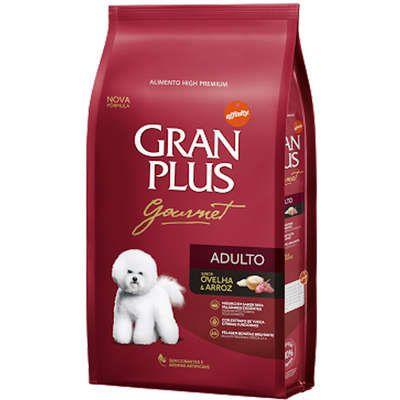 Ração Gran Plus Gourmet para Cães Adultos Ovelha e Arroz 3kg