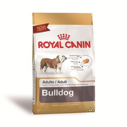 Ração Royal Canin para Cães Adultos da Raça Bulldog 12 Kg
