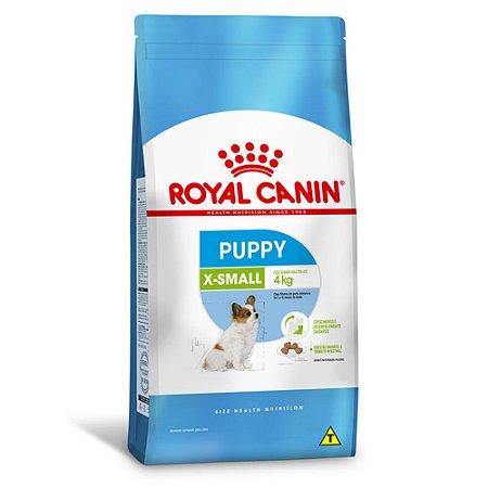 Ração Royal Canin X-Small Junior para Cães Filhotes de Porte Miniatura - Frango