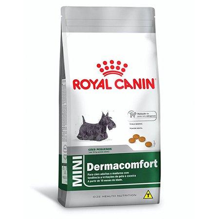 Ração Royal Canin Mini Dermacomfort para Cães Adultos Raças Pequenas - Frango