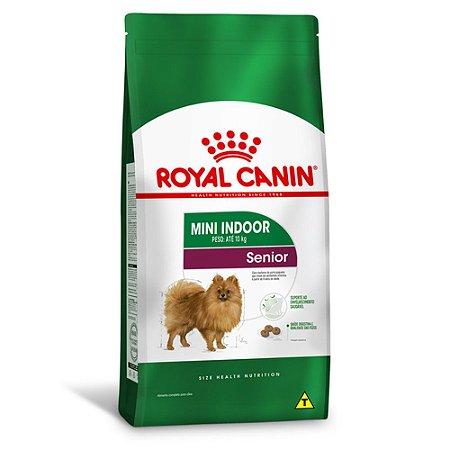 Ração Royal Canin Mini Indoor Senior para Cães Idosos de Raças Pequenas - Frango