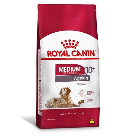 Ração Royal Canin Medium Ageing 10 + para Cães Idosos de Raças Médias - Frango