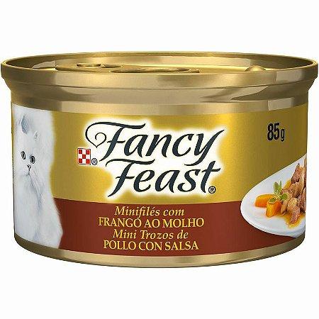 Fancy Feast MiniFilés com Frango ao Molho 85g