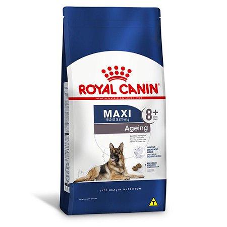 Ração Royal Canin Maxi Ageing 8+ para Cães Adultos de Raças Grandes Idosos 15kg