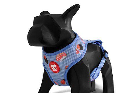 Zeedog Peitoral para Cachorros Mesh Plus Wasabi