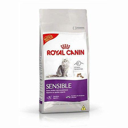 Ração Royal Canin Gatos Adultos Sensible
