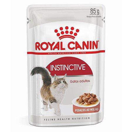 Ração para Gatos Adultos Royal Canin Sachê Feline Instinctive 85g