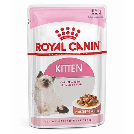 Ração Úmida para Gatos Filhotes Royal Canin Sachê Kitten Instinctive 85g