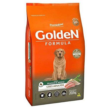 Ração para Cães Adultos Golden Formula Frango e Arroz