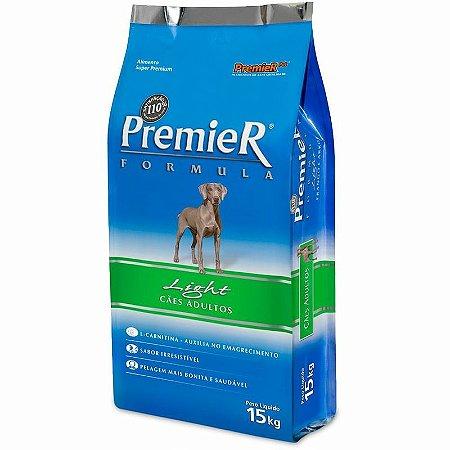 Ração Premier Formula Cães Adultos Light 15kg