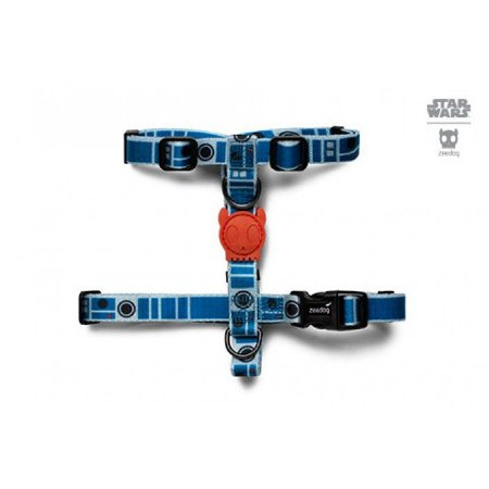 Zeedog Peitoral para Cachorros H Star Wars R2-D2