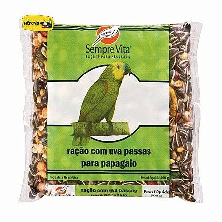 Ração Sempre Vita para Papagaios com Frutas 500g