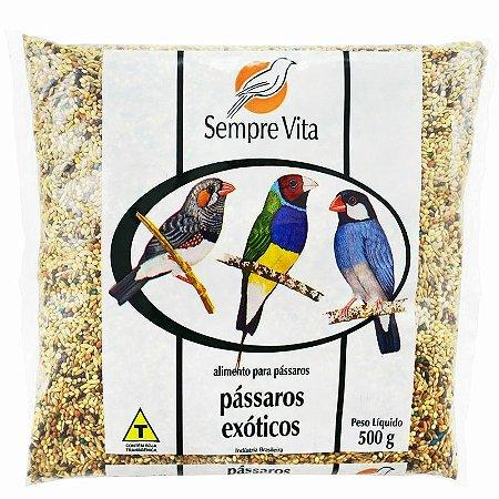 Ração Sempre Vita para Pássaros Exóticos 500g