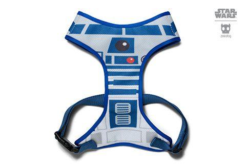 Zeedog Peitoral para Cachorros Mesh Plus Star Wars R2-D2
