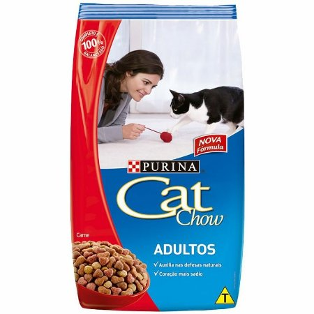 Ração Cat Chow Adulto Carne